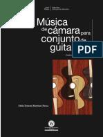 Musica de Camara Para Conjunto de Guitar