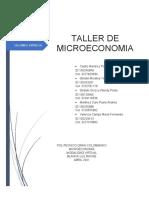 TALLER MICROECONOMIA ENTREGA 2