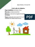 Pruebas Proyectivas PDF