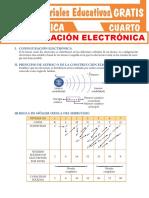 Configuración Electrónica Para Cuarto Grado de Secundaria