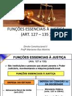 Funções essenciais a justiça