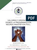 JOSE  DE ZOR - Creencias y Valores Desde La Pnl