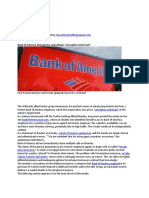 Bank of America Leaks Allege Fraud Forced Placed Insurance