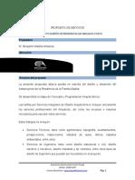 PROPUESTA DE SERVICIOS DE ANTEPROYECTO