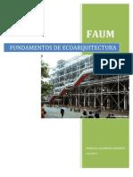 FUNDAMENTOS DE ECOARQUITECTURA