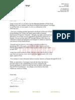 Suhail Rizvi Letter