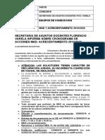 COMUNICADO N° 143MAD Y ACRECENT 2019-20