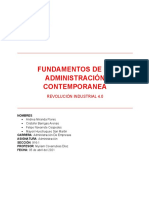 FUNDAMENTOS DE LA ADMINISTRACIÓN CONTEMPORANEA