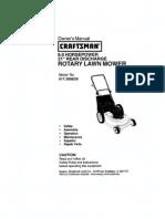 pushmower manual