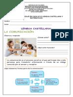 ACTIVIDAD N° 2-2 MATEMATICAS Y L.CASTELLANA