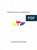 WTF Competition Rules and Interpretation