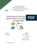 Analisís Sistemas Operativos