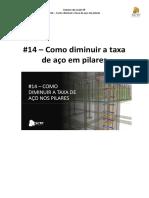 #14 - Como diminuir a taxa de aço em pilares