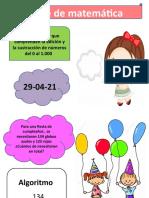 4°A matemática 29-04-21