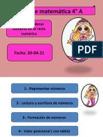 4°A MATEMÁTICA 20-04-21