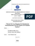 Paredes, Jaramillo Avance I Elaboracion de Proyecto de Mejora