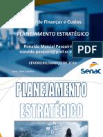 2 - Slides - Alunos - Planejamento Estratégico