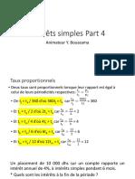 Intérêts simples Part 2