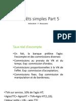 Intérêts simples Part 3
