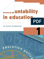 Accountability in Education