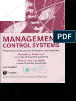 Management Control Systems 4th Ed 2017