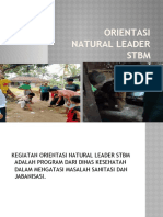Orientasi Natural Leader Stbm