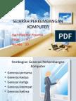 Sejarah an Komputer & Perbedaan Pentium 1-4