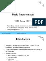 Basic Interconnects