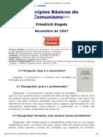 Engels - Princípioa Básicos Do Comunismo