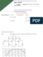 Amplificador Duplo Estágio - Aula 07_ Eletrônica II - Engenharia Elétrica - Campus Coração Eucarístico - Pmg - Noite - 2021_1