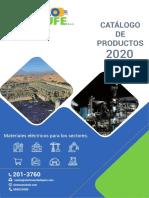 CATALOGO 2020 Actualizado Electroenchufe