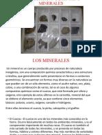 Clasificacion de Rocas y Minerales