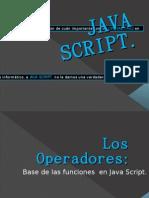 Operadores en Java Script