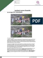 Diplomate ventisei nuove Guardie Ecologiche Volontarie - Vivere Urbino.it, 11 maggio 2021