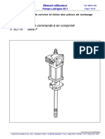 82716 Lube pump Service instruction (FR)