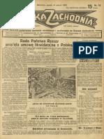 Polska Zachodnia - 1930