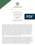 Papa Francesco Motu Proprio 20210510 Antiquum Ministerium