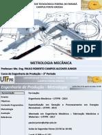 Apresentacao - Metrologia Mecanica