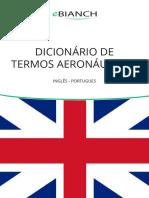 dicionário termos aeronauticos