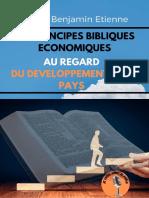 Les Principes Bibliques Au Regard Du Développement d'Un Pays