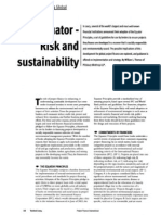 Sustainable risk