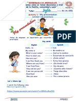Semana 4-Dia 5-Ingles 1-My Presentation