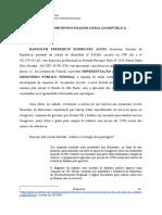 Representação do MPF - Bolsolão