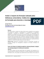 Tema B - texto 2 - 2015_REVEZ_Avaliar_o_impacto_da_formação