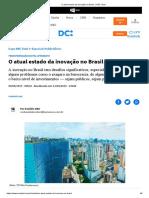 O atual estado da inovação no Brasil _ NSC Total