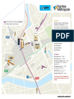 Carte Piétonisation Nantes