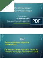 Méthodes d'Oprtimisation Algorithme Génétiques Exercice Corrigé TSP (1)