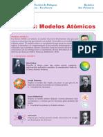 Modelos Atómicos Resumen Para Sexto de Primaria