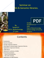 genomic and cDNA libraries