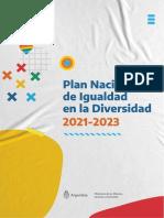 Plan Nacional de Igualdad en La Diversidad 2021-2023